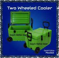 TWO WHEELED COOLER