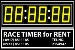 Race Timer Display Rent Hire Manila Philippines