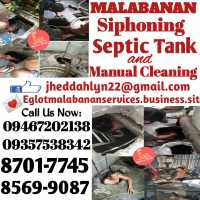 MARIKINA EGLOT MALABANAN SIPHONING SEPTIC TANK AND DECLOGGING 8701-7745