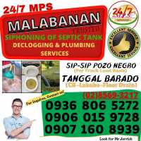 BACOOR CAVITE MPS MALABANAN SIPHONING AND PLUMBING EXPERT SERVICES-09060159728