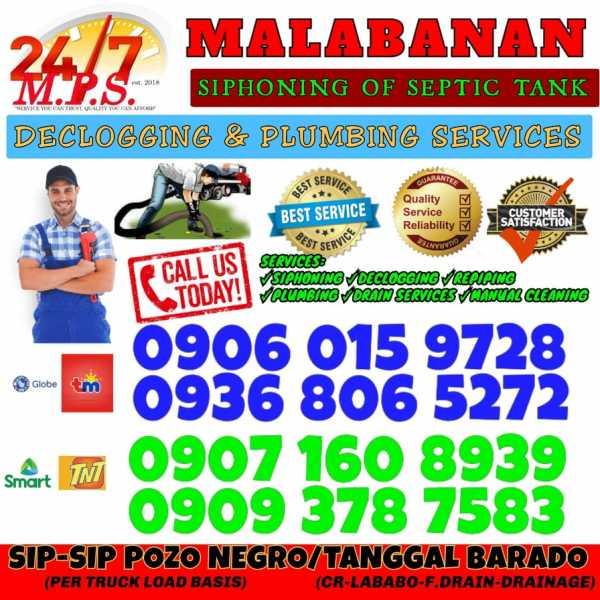 ILOILO CITY MPS MALABANAN SIPHONING AND PLUMBING EXPERT SERVICES-09060159728
