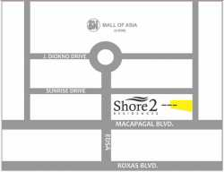 1 bedroom condo for sale beside SM Mall of Asia in Pasay City near Solaire resort and casino